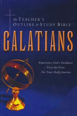 Teacher's Outline & Study Bible KJV: Galatians   -