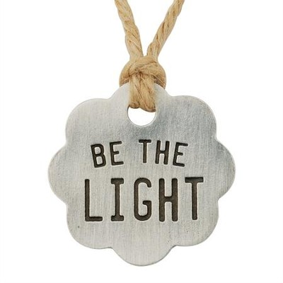 Be The Light, Gift Tag  -     By: Bob Siemon