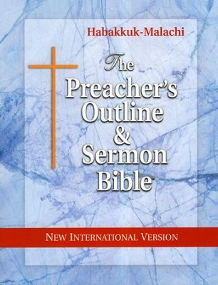 Habakkuk-Malachi [The Preacher's Outline & Sermon Bible, NIV]   -     By: Leadership Ministries Worldwide