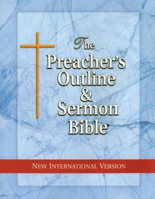 Job [The Preacher's Outline & Sermon Bible, NIV]   -