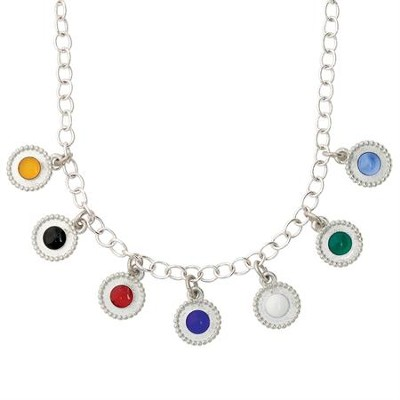 Pewter Fashion Salvation Necklace (18)  -     By: Bob Siemon