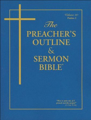 The Preacher's Outline & Sermon Bible(r) Psalms Vol. 3  -