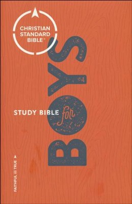 CSB Study Bible for Boys  -     Edited By: Larry Richards