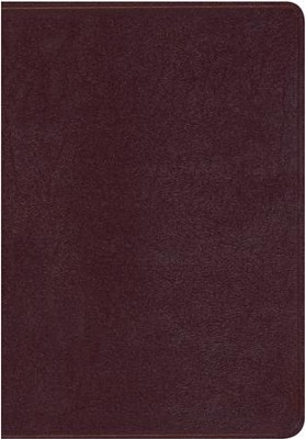 NKJV Thompson Chain-Reference Bible, Burgundy Bonded Leather   -