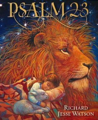 Psalm 23, Board Book  -     By: Richard Watson
