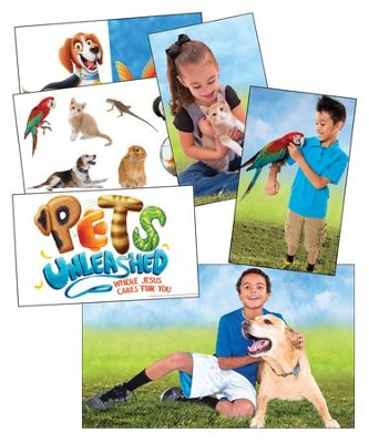 Pets Unleashed VBS: Giant Decorating Posters, set of 6 (3' X 5')   -