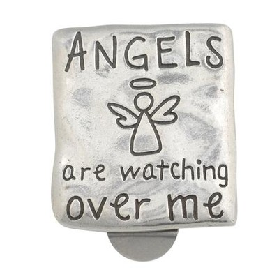 Angels Watching Over Me Visor Clip  -