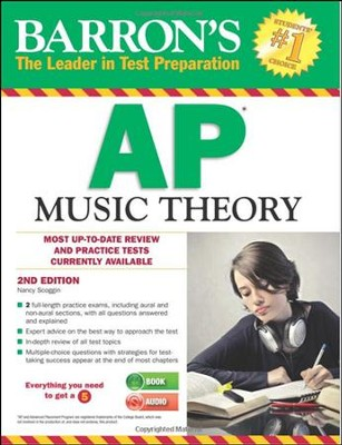 AP Music Theory with MP3 CD, 2nd Edition  -     By: Nancy Scoggin
