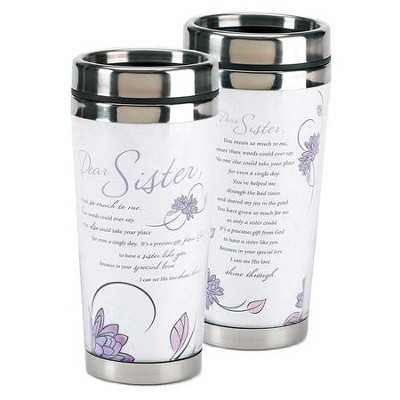 Dear Sister, You Mean So Much To Me, Travel Mug  -