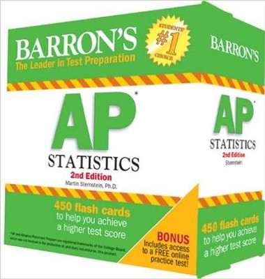 AP Statisctics Flash Cards, 2nd Edition  -     By: Martin Sternstein