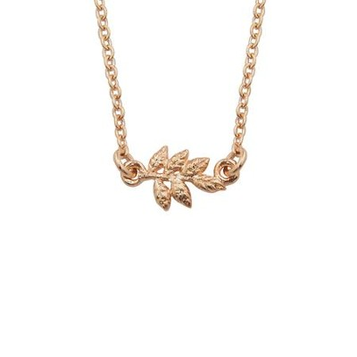 Vine Pendant, Rose Gold Plated   -