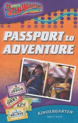 SonWorld Adventure Park Passport to Adventure Student Book,  Kindergarten (Ages 5-6)  -