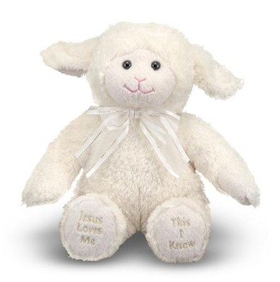 Jesus Loves Me Lamb  -