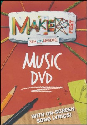 Maker Fest Music DVD (5 Songs)  -