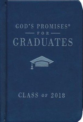 NKJV God's Promises for Graduates, Class of 2018, Navy                    -     By: Jack Countryman