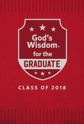 NKJV God's Wisdom for Graduates, Class of 2018, Red                                -     By: Jack Countryman