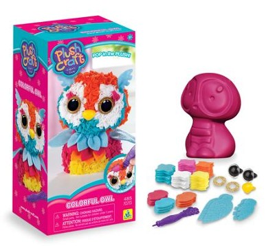 PlushCraft Colorful Owl  -