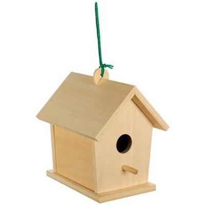 Build and Paint Birdhouse  -