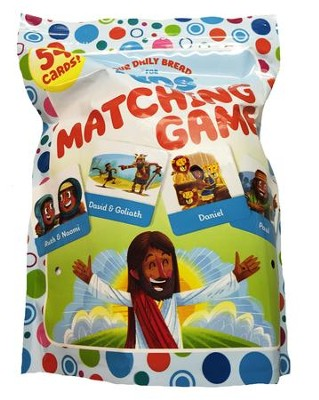 Our Daily Bread for Kids: Matching Game   -     Illustrated By: Luke Flowers