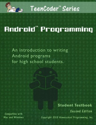 TeenCoder: Android Programming Course, Student Textbook and CDROM, 2nd Edition  -