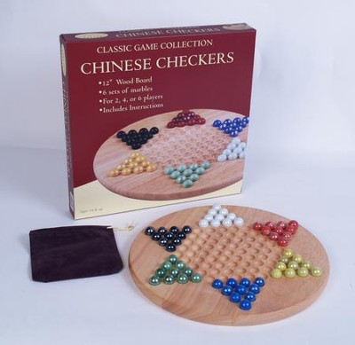 Chinese Checkers with Marbles  -