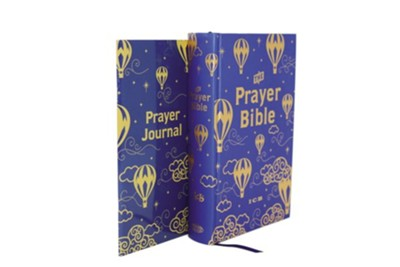 ICB Prayer Bible for Children - Navy and Gold, Hardcover, Printed Caseside  -