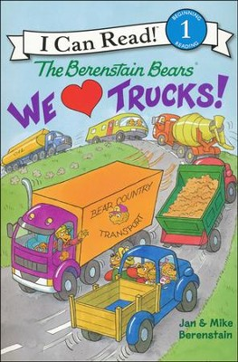 The Berenstain Bears: We Love Trucks!, Softcover  -     By: Jan Berenstain, Mike Berenstain     Illustrated By: Jan Berenstain