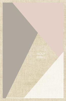 NKJV Thinline Bible, Pink and Tan, Hardcover  -