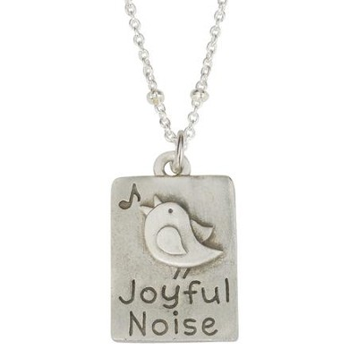Pewter Pendant - Joyful Noise  -     By: Bob Siemon