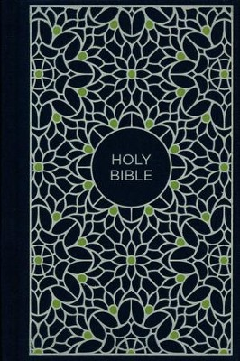 NKJV Compact Thinline Bible, Blue and Green, Hardcover  -