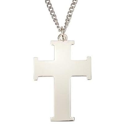 Pendant  Large Flat Iron Cross       -     By: Bob Siemon