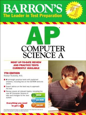 AP Computer Science with CD-ROM, 7th Edition  -     By: Roselyn Teukolsky