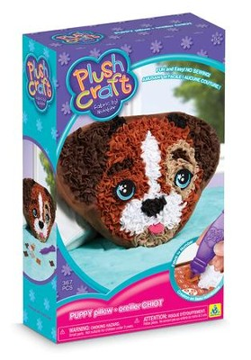 PlushCraft Puppy Pillow  -