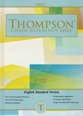 ESV Thompson Chain-Reference Bible, Hardcover  -