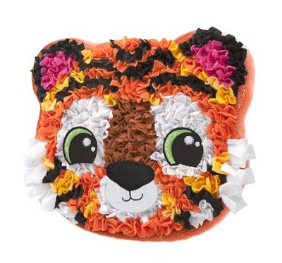PlushCraft Tiger Pillow  -