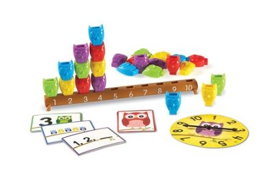 1-10 Counting Owls Activity Set, 37 Pieces  -