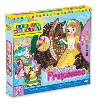 Sticky Mosaics Perfect Princesses  -