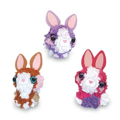 PlushCraft Baby Bunnies, 3D Mini  -