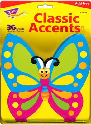 Fancy Butterfly Classic Accents   -