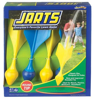 Ideals Jarts Dart Target Lawn Game With Safe Round Tips   -