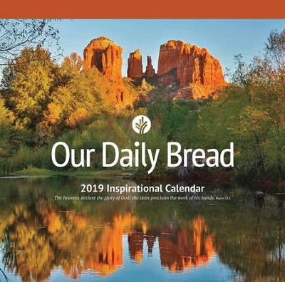 2019 Our Daily Bread Wall Calendar  -     By: Our Daily Bread