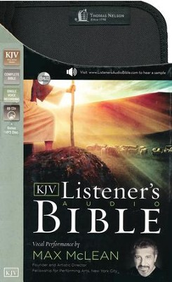 KJV Listener's Complete Bible--62 CDs   -     Narrated By: Max McLean