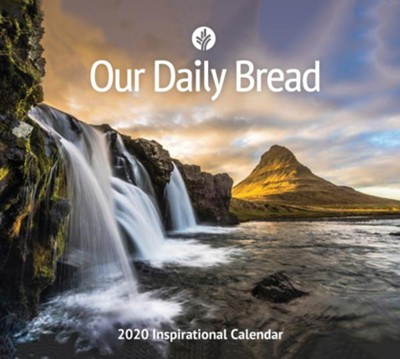 Our Daily Bread, 2020 Wall Calendar  -     By: Our Daily Bread
