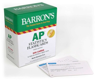 AP Statistics Flashcards  -     By: Marty Sternstein