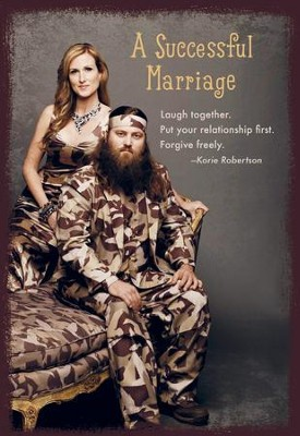 Duck Dynasty, Korie and Willie Anniversary Cards, Pack of 6  -