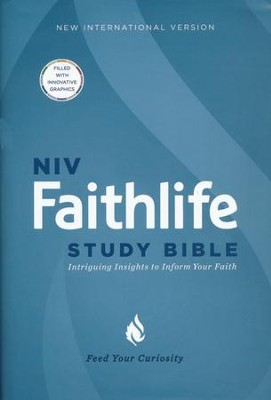 NIV Faithlife Study Bible: Intriguing Insights to Inform Your Faith, hardcover  -     Edited By: Faithlife