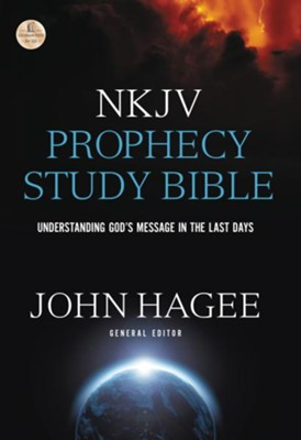 NKJV Prophecy Study Bible, 2015 Edition    -     Edited By: John C. Hagee     By: John Hagee, ed.