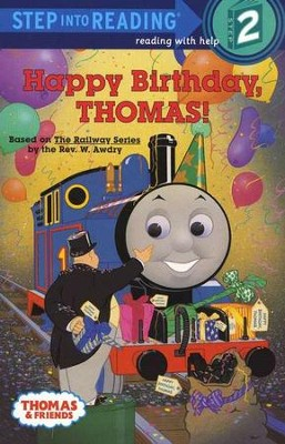 Step into Reading, Step 2: Happy Birthday Thomas!   -     By: Owain Bell