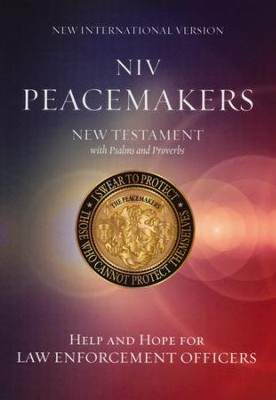 NIV Peacemakers New Testament with Psalms and Proverbs, Paperback  -