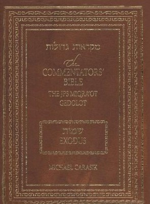 JPS Commentator's Bible: Exodus   -     Edited By: Michael A. Carasik     By: Michael Carasik
